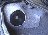 custom fiberglass subwoofer enclosure