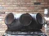 fiberglass subwoofer enclosure amp rack