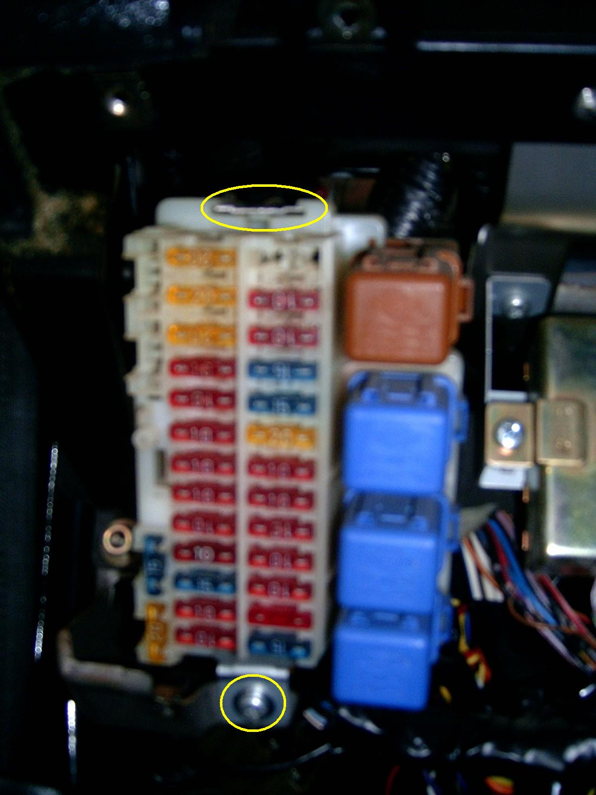 1991 Nissan Maxima Fuse Box Diagram