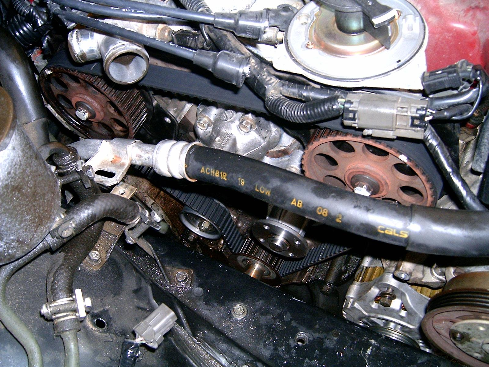 ... nissan maxima upper timing belt cover