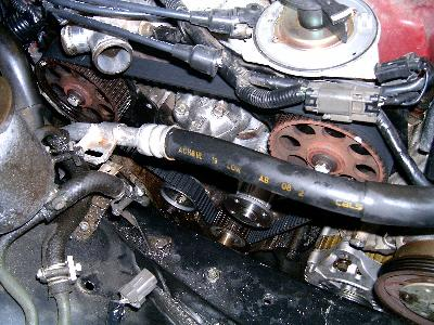When To Change Timing Belt >> Nissan Maxima Timing Belt Change Tutorial